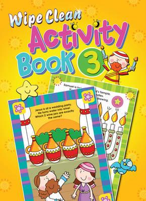 Wipe Clean Activity Book by Juliet David