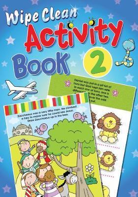Wipe Clean Activity Book 2 by Juliet David