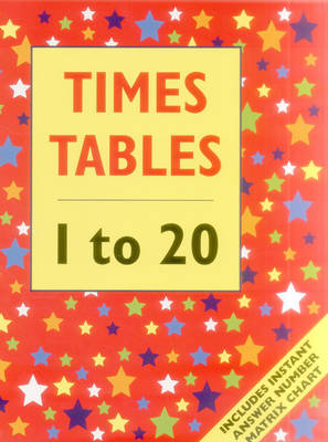 Times Tables - 1 to 20 (Giant Size) by Armadillo Press
