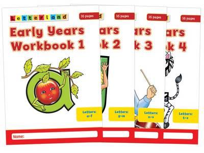 Early Years Workbooks by Louis Fidge, Lyn Wendon