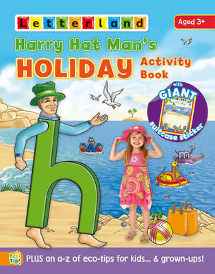 Harry Hat Man's Holiday Activity Book by Sarah Hawkin
