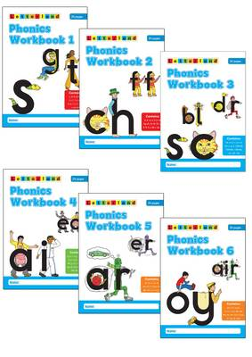 Phonics Workbooks (1-6) by Stamey Carter, Lyn Wendon