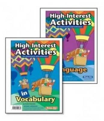 High Interest Activities Language In Language by Gunter Schymkiw