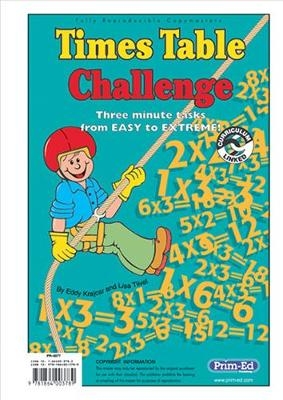 Times Table Challenge by Eddy Krajcar, Lisa Tiivel