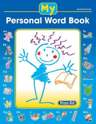 My Personal Word Book by Prim-Ed Publishing