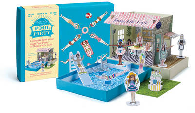 Rosie Flo's Colouring Pool Party by Roz Streeten
