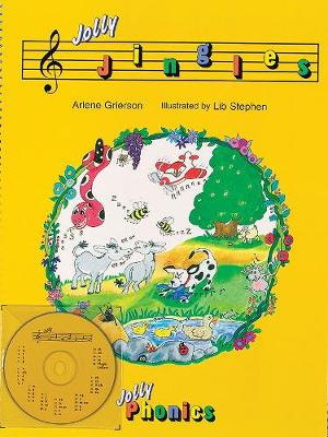 Jolly Jingles (book and CD) in Precursive Letters (BE) by Arlene Grierson