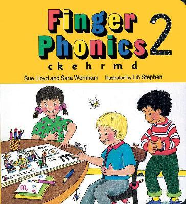 Finger Phonics book 2 in Precursive Letters (BE) by Sara Wernham, Sue Lloyd