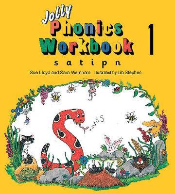 Jolly Phonics Workbook 1 in Precursive Letters (BE) by Sue Lloyd, Sara Wernham