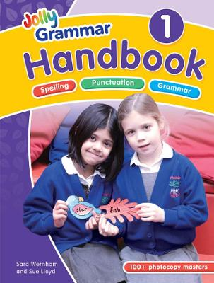 The Grammar 1 Handbook in Precursive Letters (BE) by Sara Wernham, Sue Lloyd