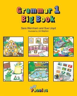 Grammar Big Book 1 in Precursive Letters (AE) by Sara Wernham, Sue Lloyd
