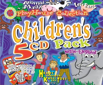 Playhouse Collection Let's Party , Animal Magic , the Wheel's on the Bus , Nellie the Elephant , & Heads, Shoulders, Knees and Toes by Records Crs