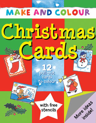Make and Colour Christmas Cards by Clare Beaton