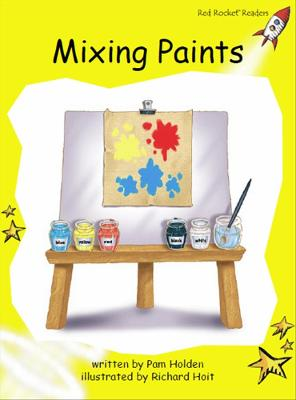 Mixing Paints by Pam Holden