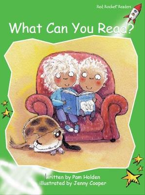 What Can You Read? by Pam Holden