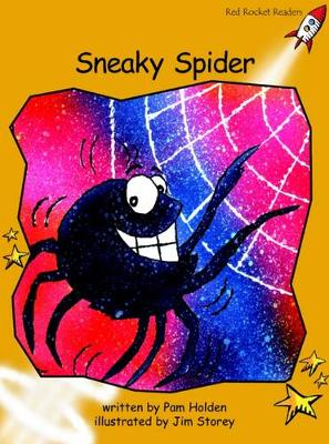Sneaky Spider by Pam Holden