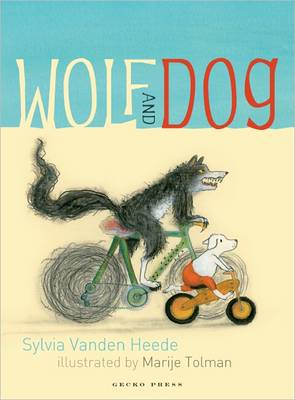 Wolf and Dog by Sylvia Vanden Heede