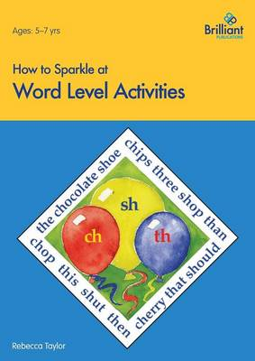 How to Sparkle at Word Level Activities by Rebecca Taylor