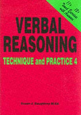 Verbal Reasoning Technique and Practice by Susan J. Daughtrey
