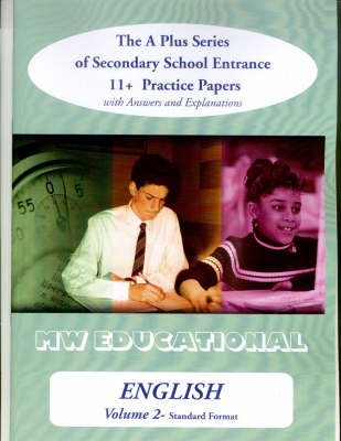 English (standard Format) 11 Plus Practice Papers by Mark Chatterton
