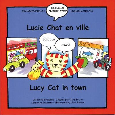 Lucy Cat in the Town Lucie Chat En Ville by Catherine Bruzzone