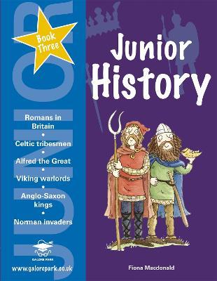 Junior History Book 3 by Eamonn Brennan, Fiona MacDonald