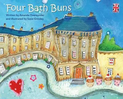 Four Bath Buns by Amanda Overender