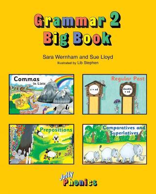 Grammar Big Book 2 in Precursive Letters (AE) by Sara Wernham, Sue Lloyd