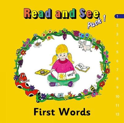 Jolly Phonics Read and See, Pack 1 in Precursive Letters (BE) by Sue Lloyd, Sara Wernham