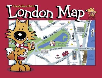Guy Fox 'Create Your Own' London Map by Kourtney Harper