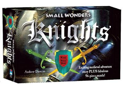 Knights - Box Set Exciting medieval adventure story PLUS fabulous 96-piece puzzle! by Andrew Duncan