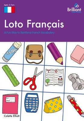 Loto Francais A Fun Way to Reinforce French Vocabulary by Colette Elliott