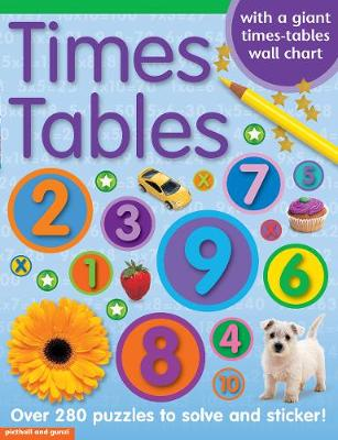 Times Tables Sticker Book by Chez Picthall