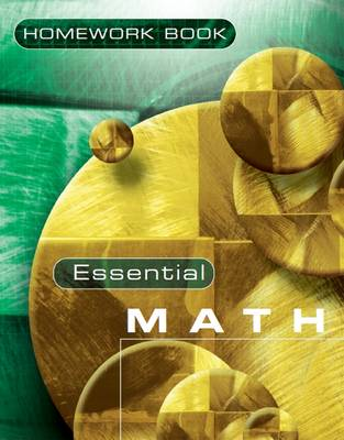 Essential Maths 7H Homework Book by David Rayner, Michael White