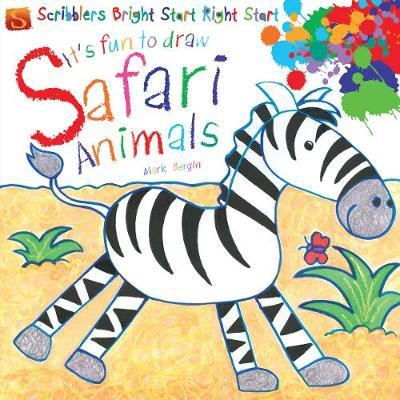 It's Fun To Draw: Safari Animals by Mark Bergin