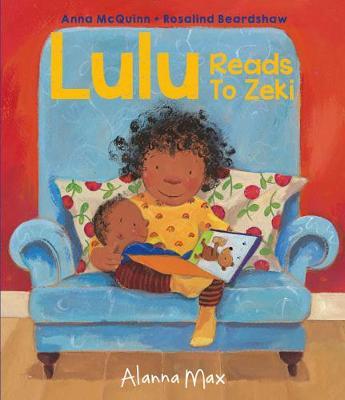 Lulu Reads to Zeki by Anna McQuinn, Rosalind Beardshaw