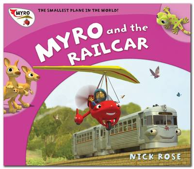 Myro and the Railcar Myro, the Smallest Plane in the World by Nick Rose