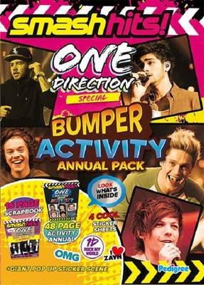 Smash Hits One Direction Activity Annual Bumper Pack by