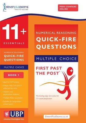 11+ Essentials Short Numerical Reasoning for CEM - Multiple Choice by ElevenPlusExams