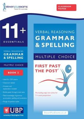 11+ Verbal Reasoning Grammar & Spelling for Cem, (Multiple Choice Practice Tests Included) by ElevenPlusExams