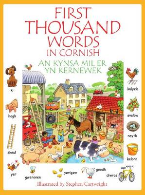 Kynsa Mil Er yn Kernewek First Thousand Words in Cornish by