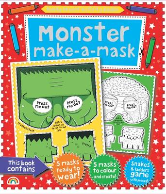 Make-a-Mask Monster! by The Boy Fitzhammond