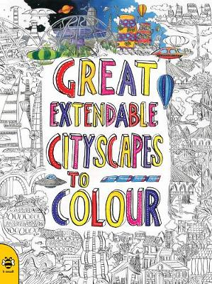 Great Extendable Cityscapes to Colour by Stu McLellan