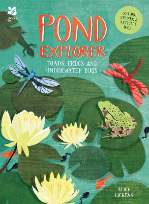 Pond Explorer Nature Sticker & Activity Book by Alice Lickens