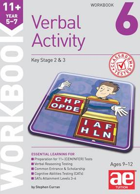 11+ Verbal Activity Year 5-7 Workbook 6 Additional Multiple-Choice Practice Questions by Stephen C. Curran, Mike Edwards, Janet Peace