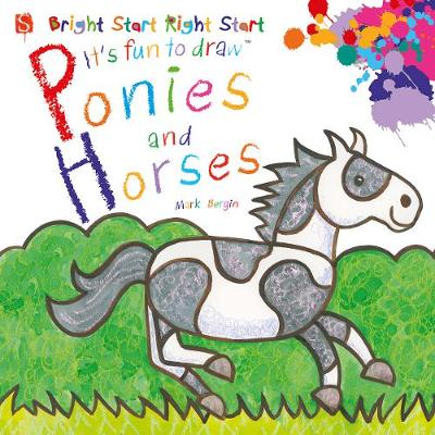 Ponies And Horses by Mark Bergin