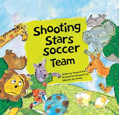 Shooting Stars Soccer Team Teamwork by