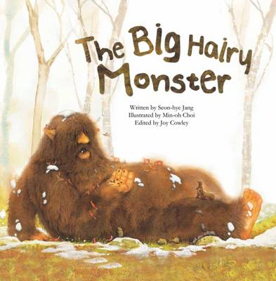 Big Hairy Monster Counting to Ten by