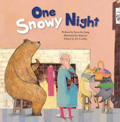 One Snowy Night Measuring with Body Parts by Joy Cowley