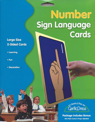 Number Sign Language Cards by Stanley Collins